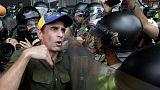 Gegen Nicolas Maduro - Demonstranten in Venezuela lassen nicht locker