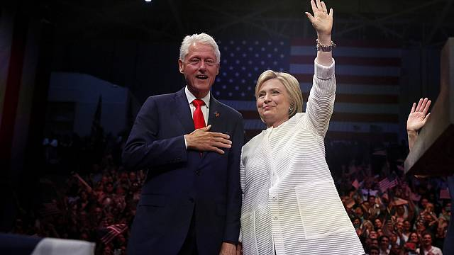 Hillary Clinton a Demokrata Párt elnökjelöltje