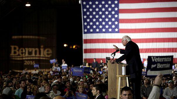 Clinton'ın rakibi Sanders mücadelede kararlı