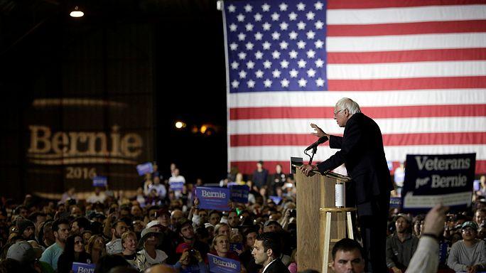 Sanders bleibt im Rennen