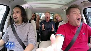 """""""Carpool Karaoke"""", con James Corden"""