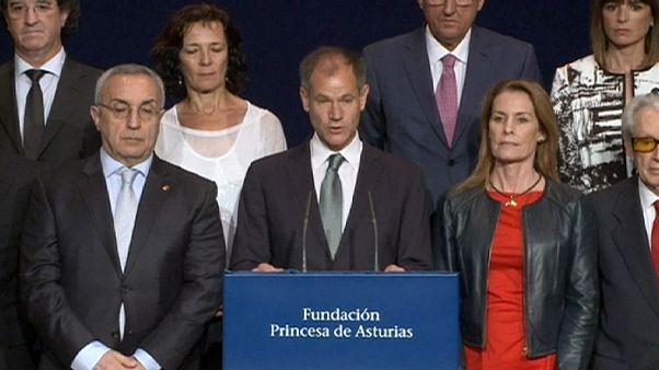 بطل التراثلون العالمي غوميز يفوز بجائزة استورياس للرياضة