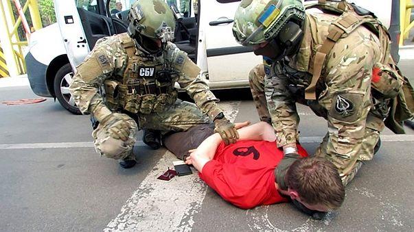 Ukrainian Secret Service on Frenchman arrested at border in terror plot