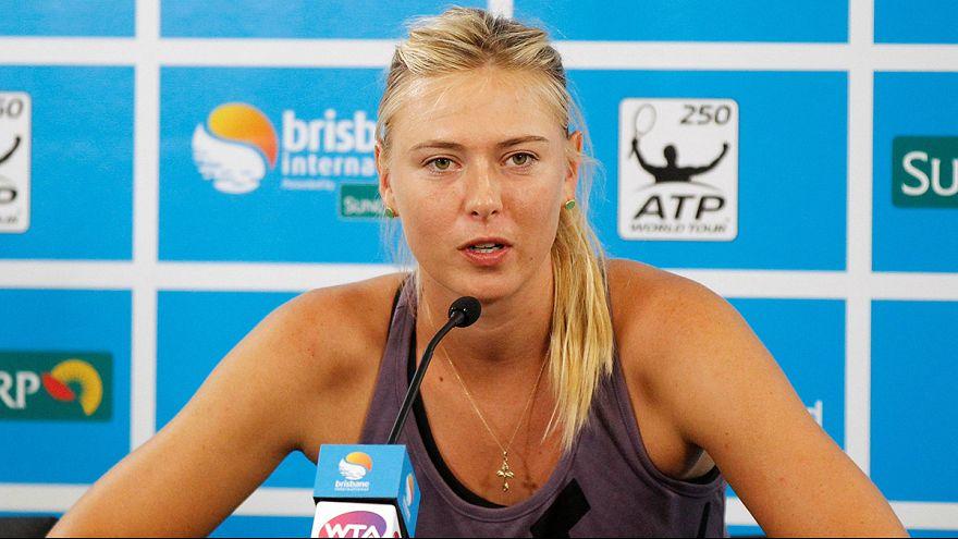 Tennis, doping: due anni di sospensione per Maria Sharapova