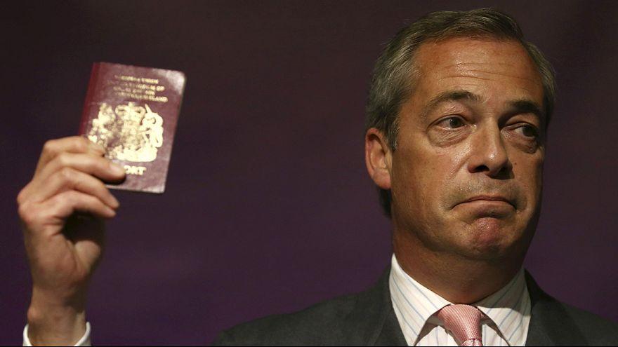 Farage: Göçmenlerin yükünü hesaplamak bile imkansız
