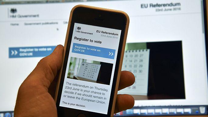 Webseite zusammengebrochen: Registrierung für Brexit-Referendum verlängert