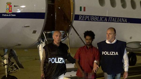 Alleged human-trafficking 'kingpin' extradited to Italy