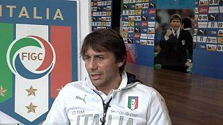 """Antonio Conte: """"Queremos asustar a nuestros adversarios con nuestra actuación y no por nuestro pasado"""""""