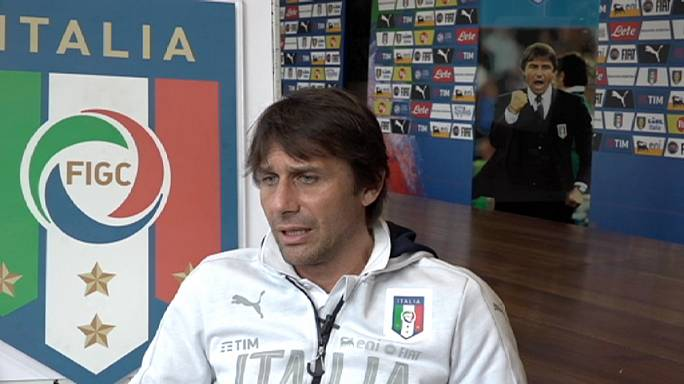 """Антонио Конте: """"У Италии богатая история, но мы переживаем трудные времена"""""""