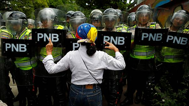 تظاهرات علیه مادورو در خیابانهای کاراکاس