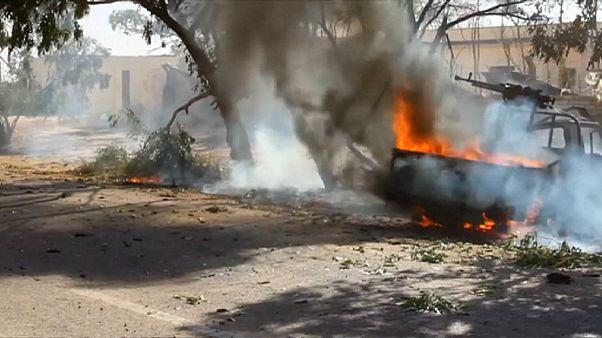 Libya hükümet güçleri Sirte'ye girdi