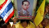 Celebrations in Bangkok for 70 years of Thai King Bhumibol's reign