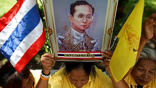 Celebrations in Bangkok for 70 years of Thai King Bhumibol's reign