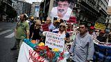 Αθήνα:Διαμαρτυρία έξω από το υπουργείο Υγείας