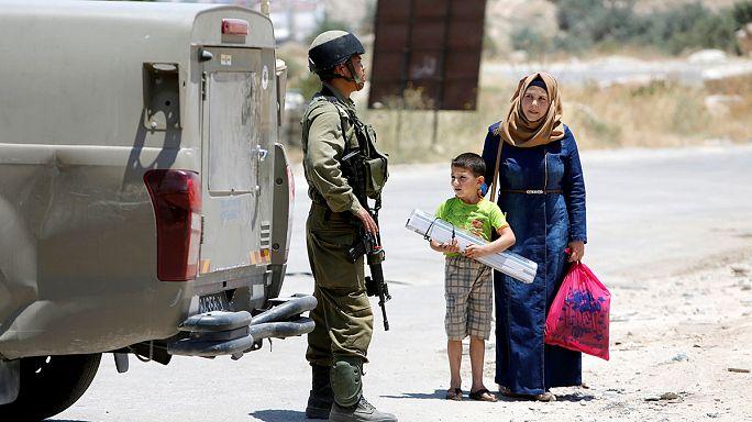 Családlátogatásra sem mehetnek Izraelbe a ciszjordániai palesztinok