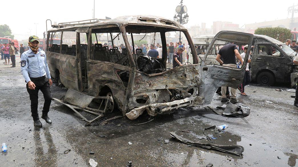 """""""Исламское государство"""" ответило на наступление на Эль-Фаллуджу терактами в Багдаде"""