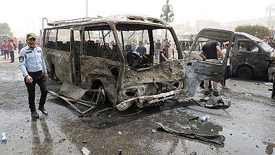 Iraque: Duplo atentado faz mais de 20 mortos e 70 feridos em Bagdade