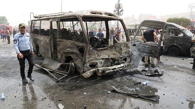 أزيد من 20 قتيلا و70جريحا في سلسلة انفجارات في بغداد