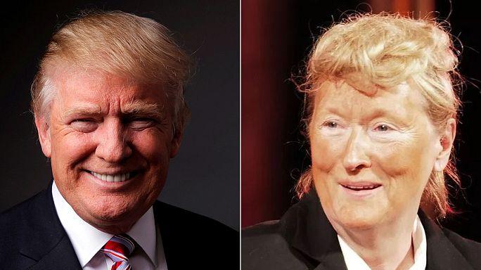 "Meryl Streep'ten ""Trump Show"""