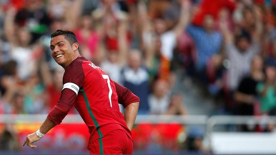Portugal apabulla a Estonia en su último amistoso antes de la fase final de la Eurocopa 2016