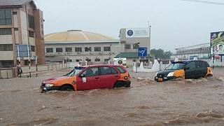 Image result for pHOTOS OF Ghana spills dam in capital, Accra