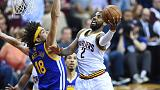 NBA finals: Cleveland Cavaliers bounce back with Game Three mauling of Golden State