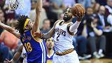 NBA: Final serisinde Cavaliers'tan ezici galibiyet