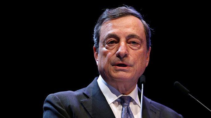 دراغي يطالب حكومات أوروبا بتكثيف جهودها لضمان مستقبل الاتحاد النقدي