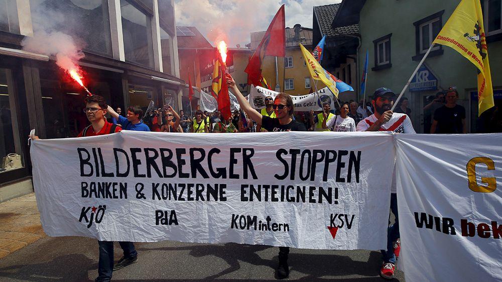 Konferenz in, dresden : Bilderberger gegen Aluhüte