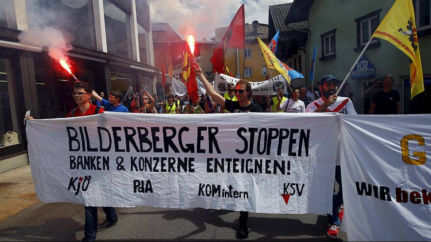 Secretive Bilderburg Meetings open in Dresden