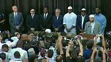 Прощание с Мохаммедом Али