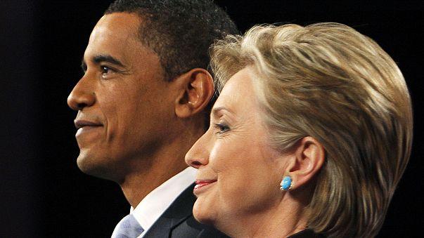 Obama apoia Clinton na corrida à Casa Branca