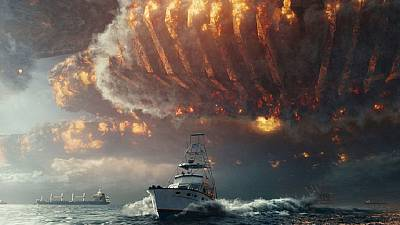 'Independence Day' film pits mankind in a battle with aliens