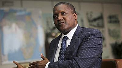 Dangote donates 106 trucks of Ramadan supplies to Borno IDPs