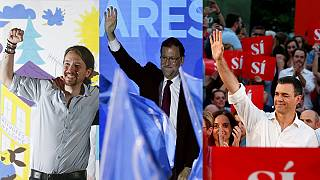 Spain: election campaigns kick off as poll suggests big gains for Podemos alliance