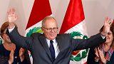 Kuczynski 'wins' Peruvian election, but Fujimori refuses to concede
