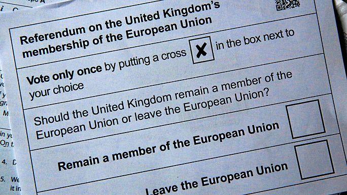 """Fiero debate televisivo sobre el """"brexit"""""""