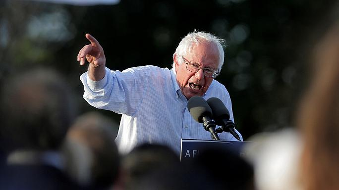 بيرني ساندرز يراهن على مناضليه في واشنطن للاستمرار في السباق الرئاسي الأمريكي