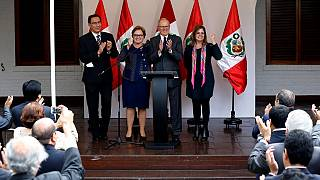 Kuczynski is president-elect of Peru, calls for unity