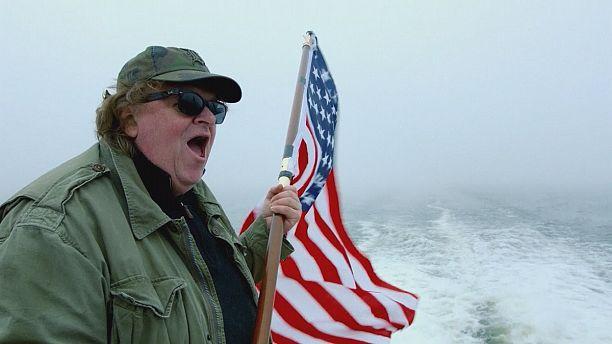 Michael Moore invades Europe in bid to make America great again