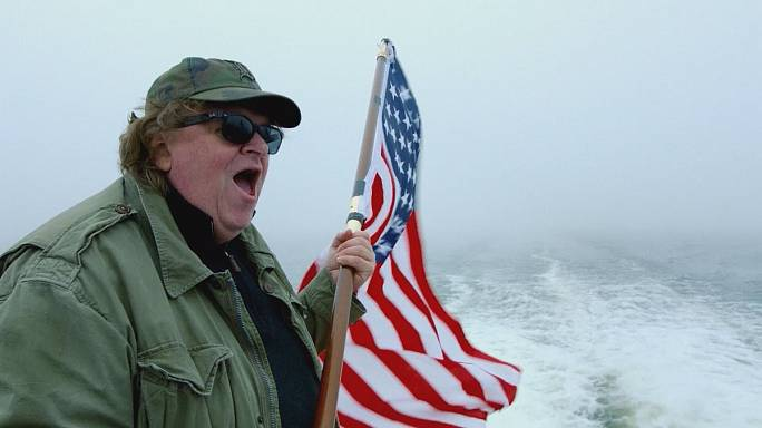 Michael Moore invades Europe in bid to make America great again