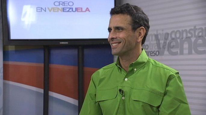 """هنريك كابريليس : """"فنزويلا تمر بأسوأ أزمة في تاريخها"""""""