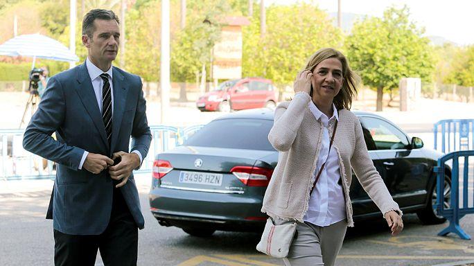Prenses Cristina ve eşi 'vergi kaçakçılığı' davasında sona geldi