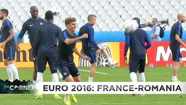 Euro 2016: França e Roménia dão esta noite o pontapé de saída