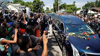 Erdogan joins thousands at Ali's Muslim funeral service