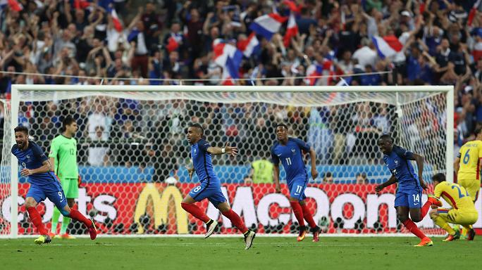 Euro 2016: Payet lancia la Francia, Romania battuta 2-1