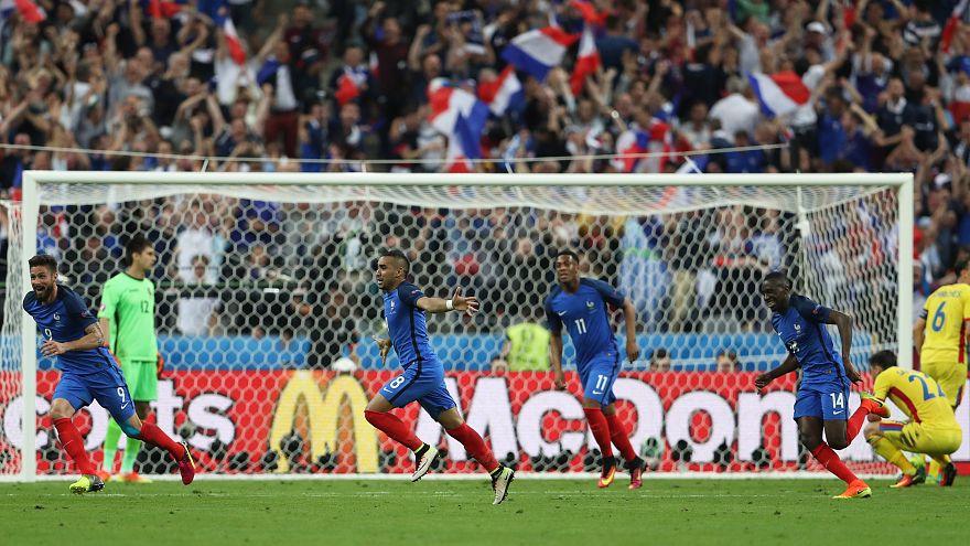 Euro 2016 : la France vient à bout de la Roumanie