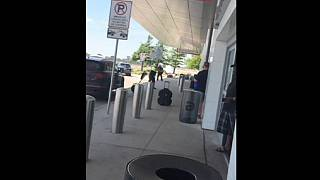تیراندازی در فرودگاه دالاس به دلیل دعوای خانوادگی