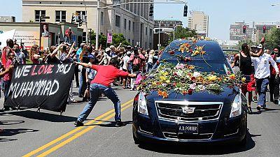 Mohamed Ali a été inhumé ce vendredi