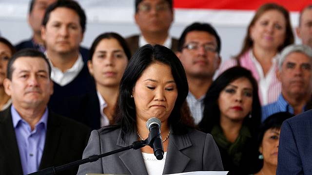 البيرو: كيكو فوخيموري تقر بخسارتها في الانتخابات الرئاسية